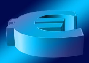 koruna vůči euru